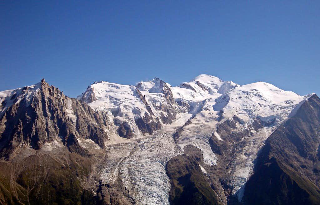 Mt Blanc Panorama: North Side