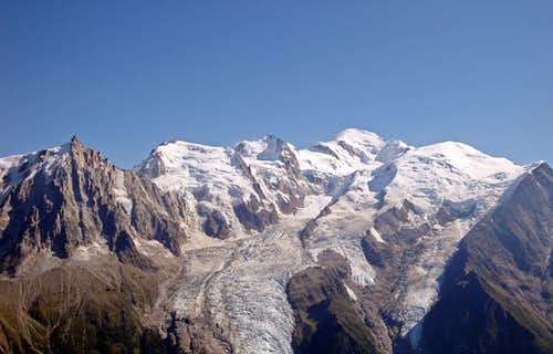 Mt Blanc Panorama: North Side