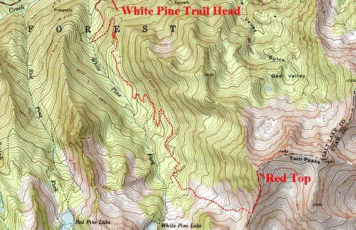 White Pine Topographic.