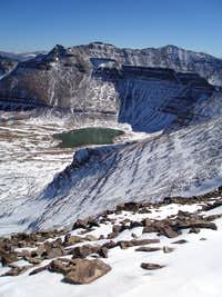 Henrys Fork Peak and Cliff Lake