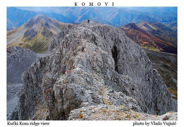 Kucki Kom ridge view