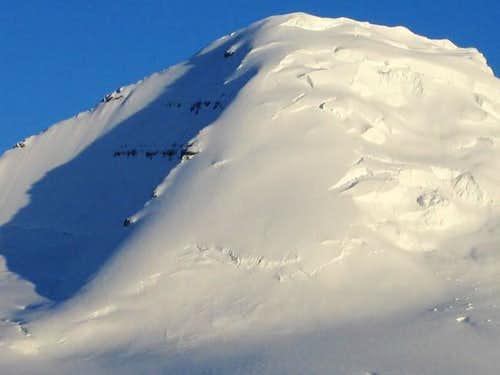 East Face of Mount Columbia...