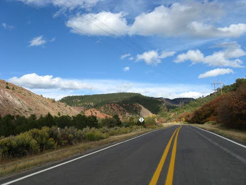 Road Through San Senorito Canyon