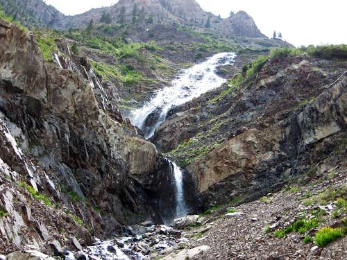 Waterfall on Cascade Mountain