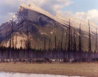 Mt. Rundle as looked in...