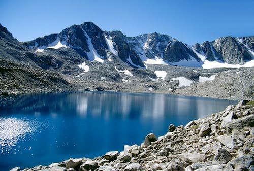 Mt. Goethe and Goethe Lake...