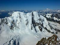 Dufourspitze from the Summit