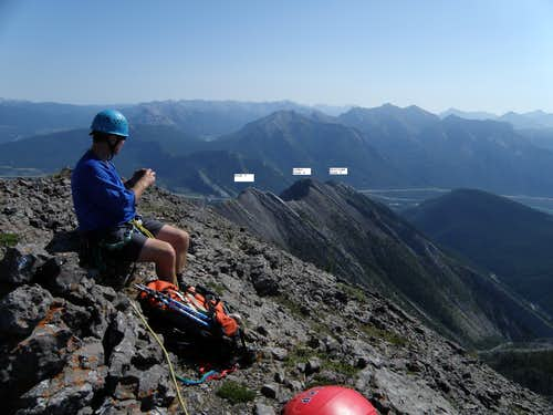 South Part of Goat Traverse, Kananaskis