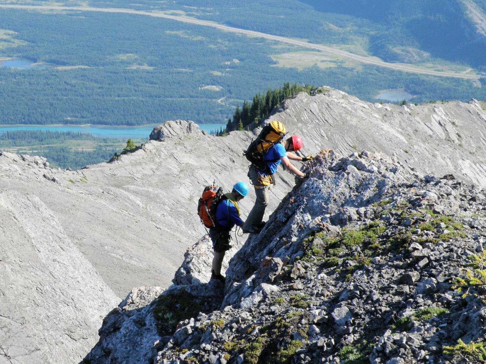 Goat Ridge Traverse N-S, 5.3, Kananaskis
