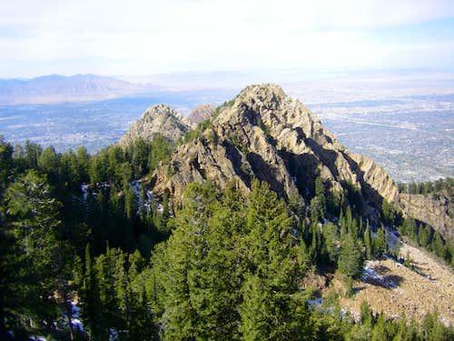 Triangle Peak from Wildcat Ridge