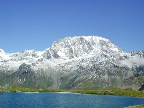 Mont Velan seen from the...