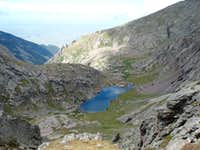 Lake below Crestone Peak