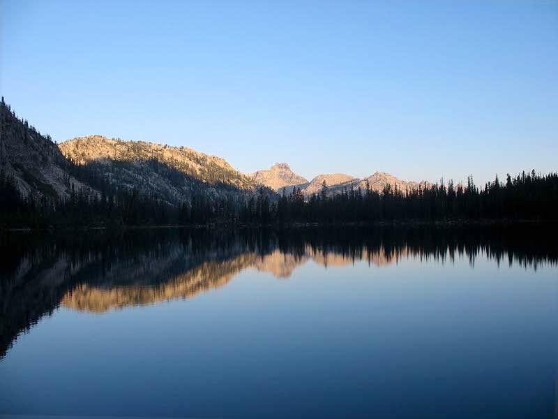 Cramer Lake Reflection