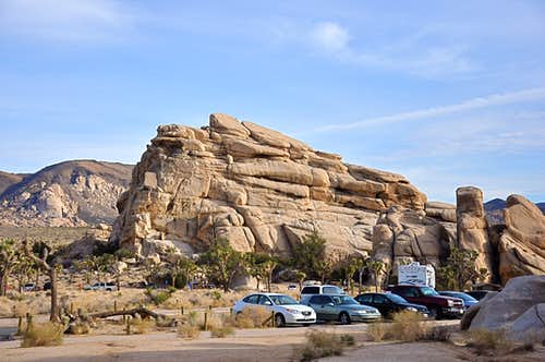 Real Hidden Valley Parking Lot