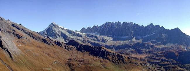 The Mont Gelè and the Morion...