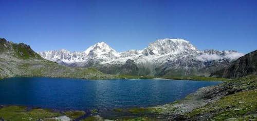 Mont Velan and Gran Combin...