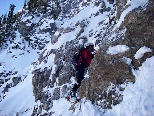 devil\'s castle couloir
