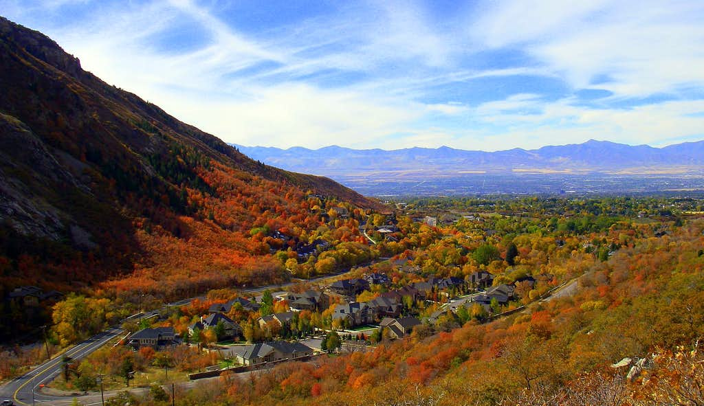 Little Cottonwood Canyon Fall Colors