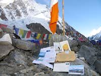 Mail arrived at base camp