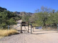 Keystone Peak Access Gate