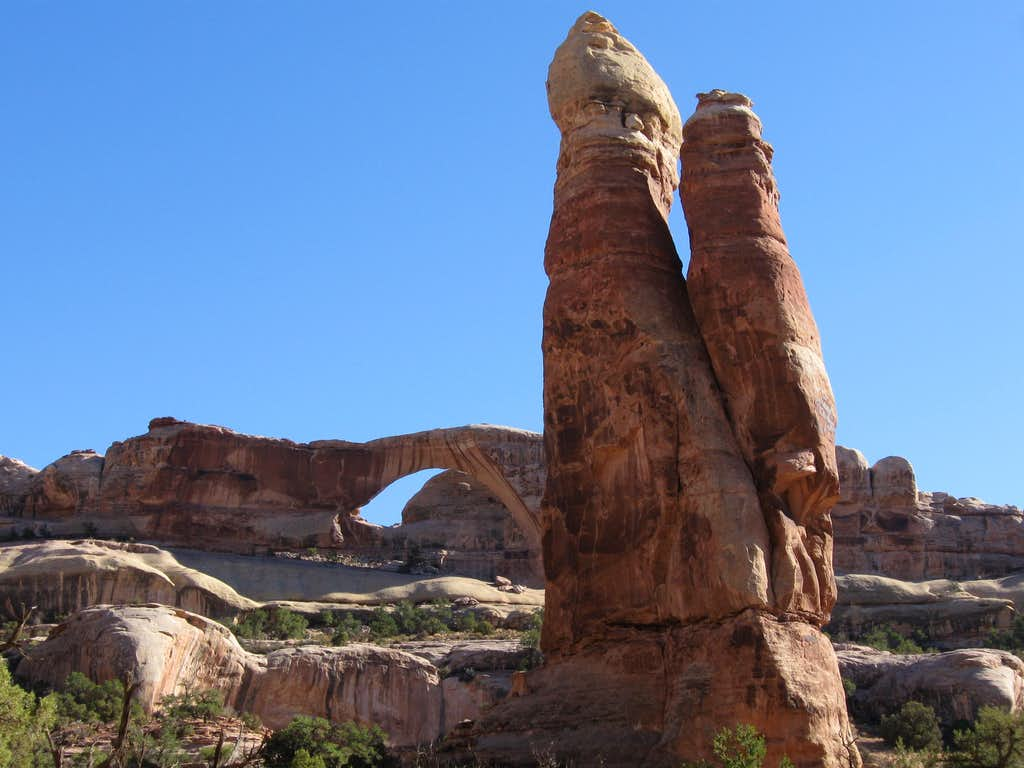 Tibbits Arch and Rock Tower