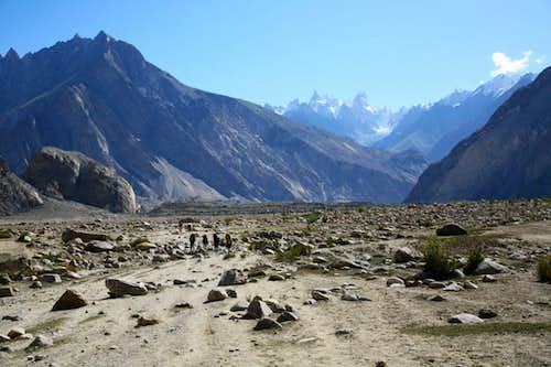 Trek Towards Baltoro Glacier