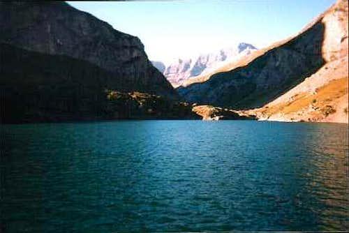 Lac des Gloriettes, Cirque d'Estaubé