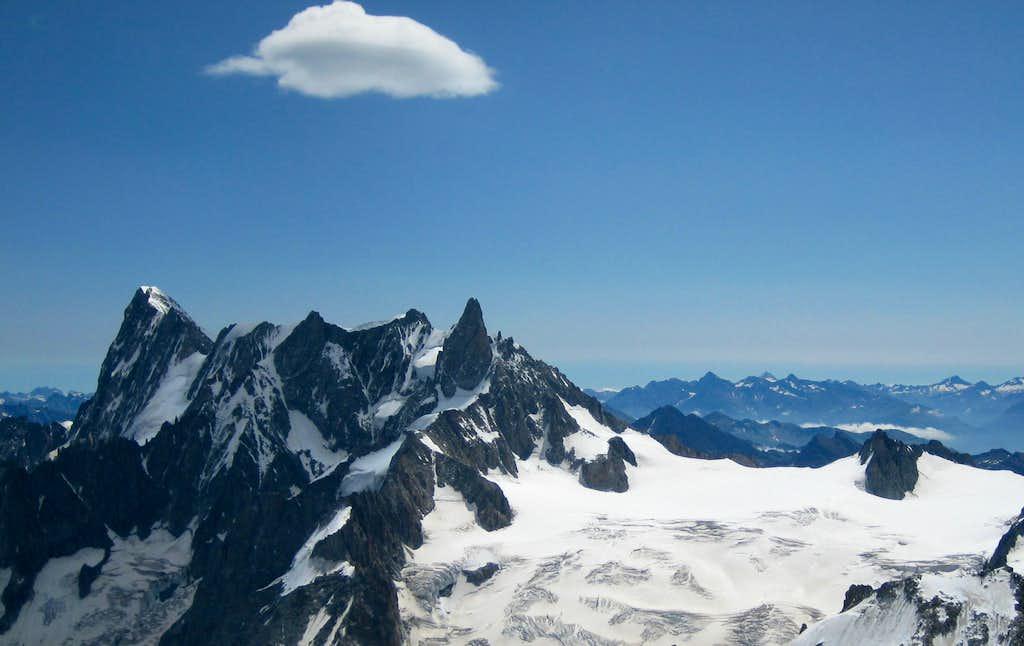 Rochefort Ridge - Glacier du Géant
