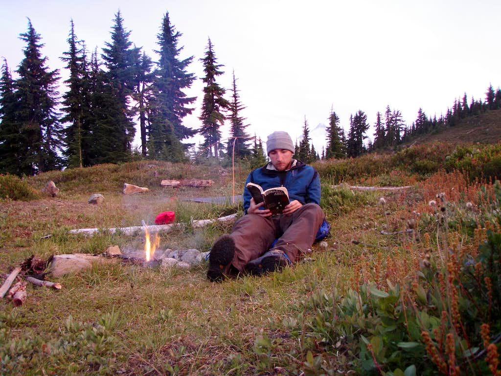 Reading at Camp