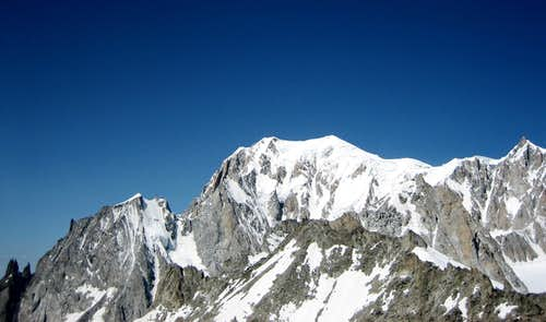 The majestic Mont Blanc