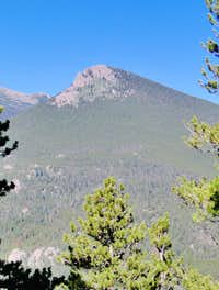 Estes Cone from Twin Sisters Trail