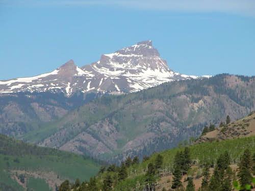 Uncompahgre from Slumgullion...