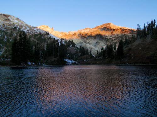 Mount Daniel Alpenglow