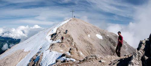 The Dürrenstein summit
