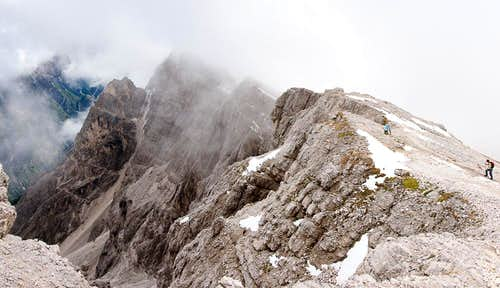 The Dürrenstein south ridge