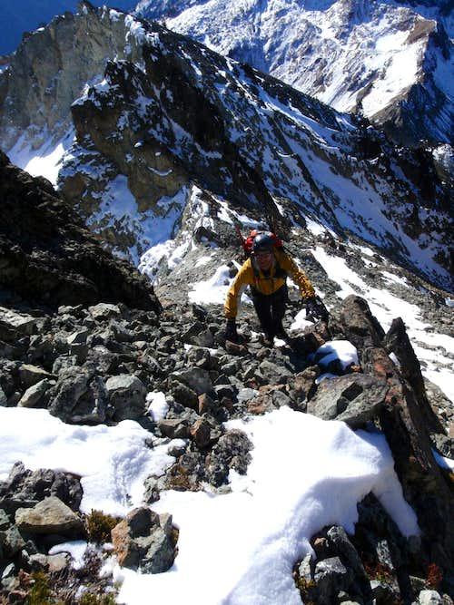 Exposure on the Southeast Ridge