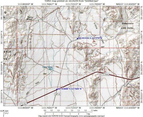 Conger Mtn map 1