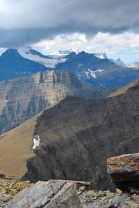 view NW from Mount Henkel