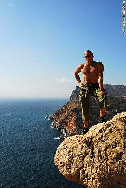 Rockclimbing in Crimea
