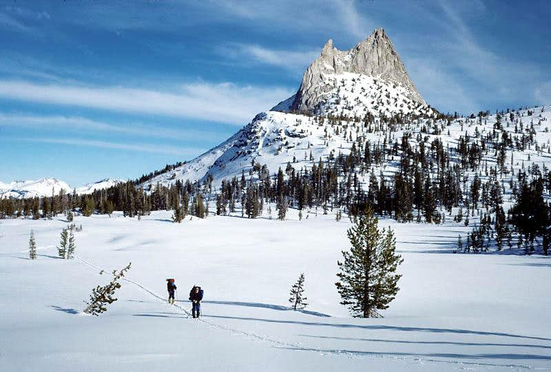 Cathedral Peak on New Years Day