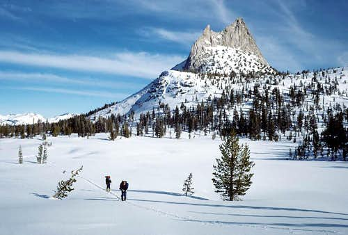 Cathedral Peak on New Years Da