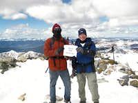 Grays Peak Summit 10/19/09