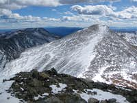Grays Viewed From Torreys Summit 10/19/09