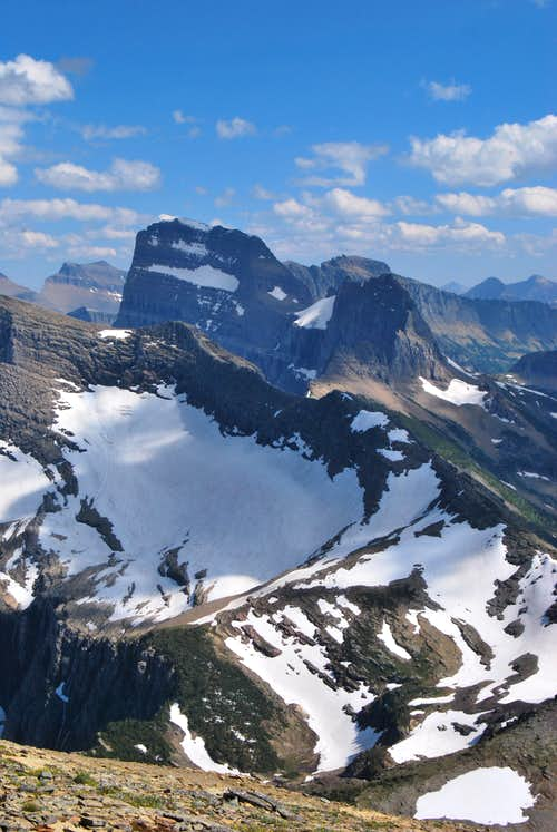 Mount Gould and Swiftcurrent Glacier