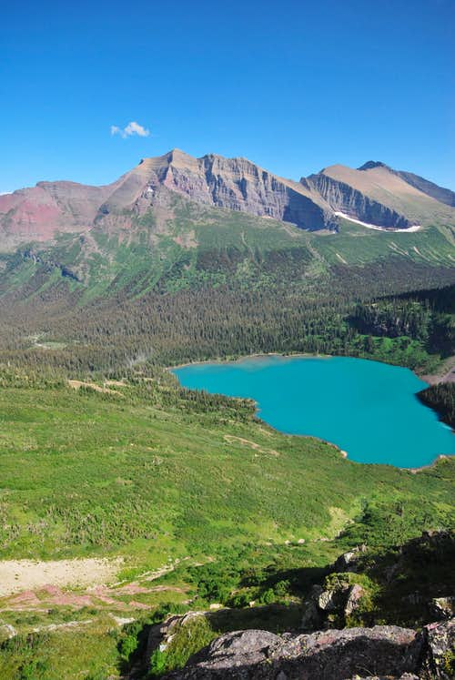 Allen Mountain & Grinnell Lake