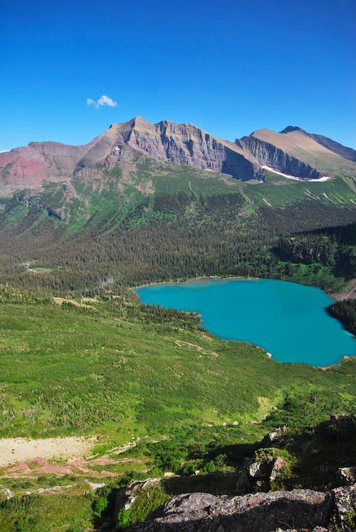 Allen Mountain & Grinnell Lake