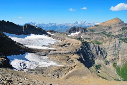 Swiftcurrent Glacier & Swiftcurrent Mountain