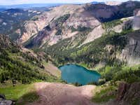 Crater Lake from Montezuma Peak