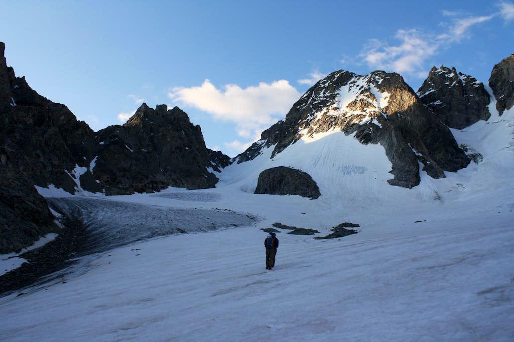 Turret Peak & Mount Warren