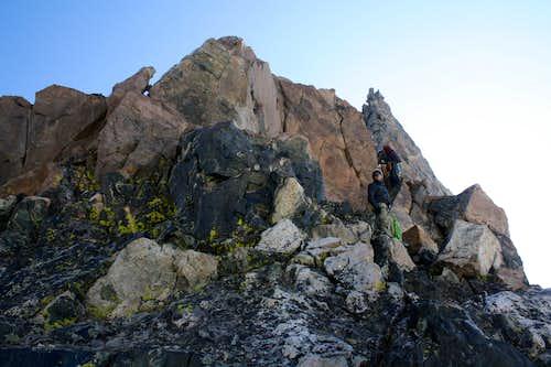 Start of Turret Peak's West Ridge